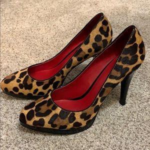 Nine West brand new leopard print heels